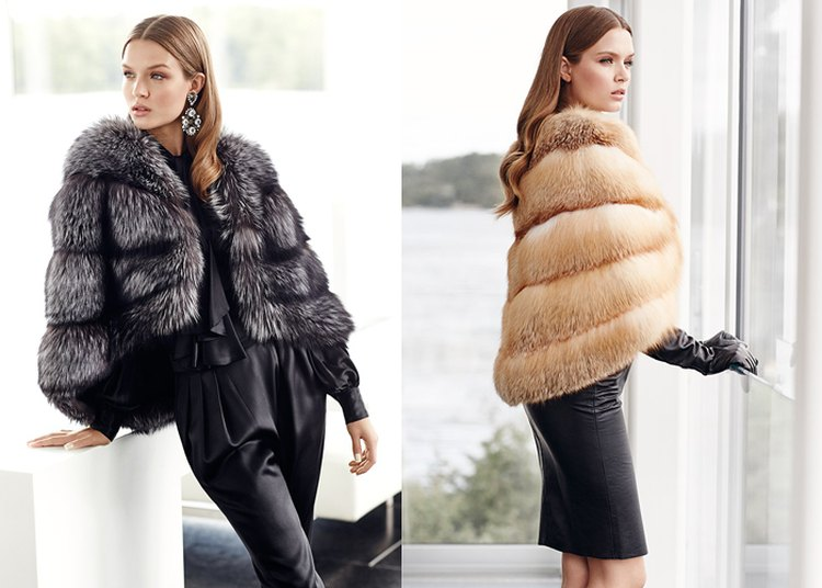 NAFA Silver Fox от Michael Kors и NAFA Northern Red Fox от Michael Kors