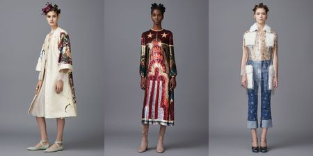 Paris Fashion Week: Valentino осень-зима 2016/2017