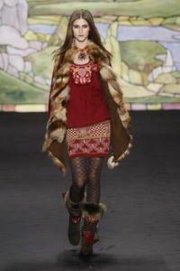 Anna Sui коллекция осень/зима 2010-2011
