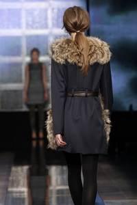 Baum und Pferdgarten  - коллекция осень/зима 2011 - 2012, мех Saga Furs®Finnraccoon
