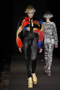 Moonspoon  - коллекция осень/зима 2011 - 2012, мех Saga Furs ® Shadow Fox