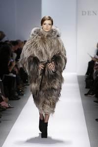Dennis Basso - коллекция сезона осень/зима 2011-2012; мех - коза и чернобурка