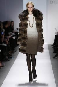 Dennis Basso - коллекция сезона осень/зима 2011-2012; мех - лисица и шиншила