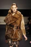 Alessandro Dell'Acqua – Weaseland wild-type mink wrap coat