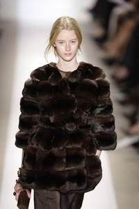 Dennis Basso – Black cocoa chinchilla coat
