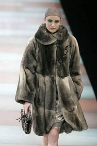 Giorgio Armani - Chinchilla short coat