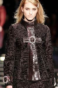 Каракуль из коллекции Dolce & Gabbana