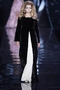 Dior Christian - Samtnerz Mantel