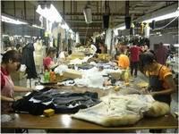 Китайская меховая фабрика.