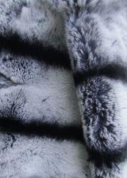 REX chinchilla - мягкий, эластичный и блестящий мех, шелковистый и густой волос с ярким блеском, покров различного окраса.