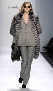 Модные направления зимы 2009/2010. Модельер Pamella Roland