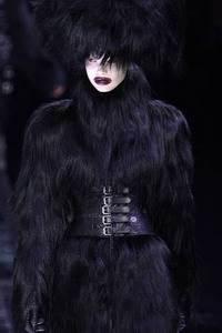 Модные направления зимы 2009/2010. Модельер Alexander McQueen