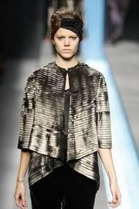Модные направления зимы 2009/2010. Модельер Fendi
