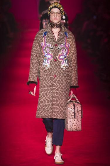 Milan Fashion Week: Gucci осень-зима 2016/2017