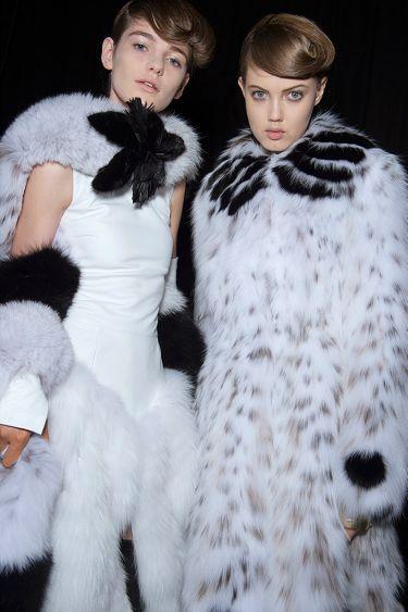 История модного Дома Fendi обогатилась первым кутюрным показом - 1