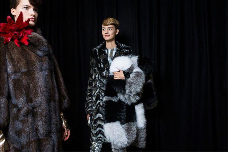 История модного Дома Fendi обогатилась первым кутюрным показом - 6
